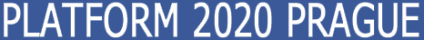 Logo of PLATFORM 2020 PRAGUE
